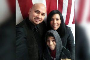 Les saluda Abraham Ortega y Diana G García